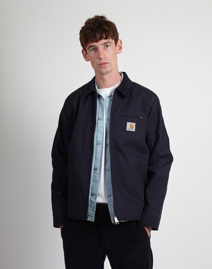 976b1329fd685 Carhartt WIP Detroit Jacket Dark Navy | Menswear in 2019 | Jackets ...