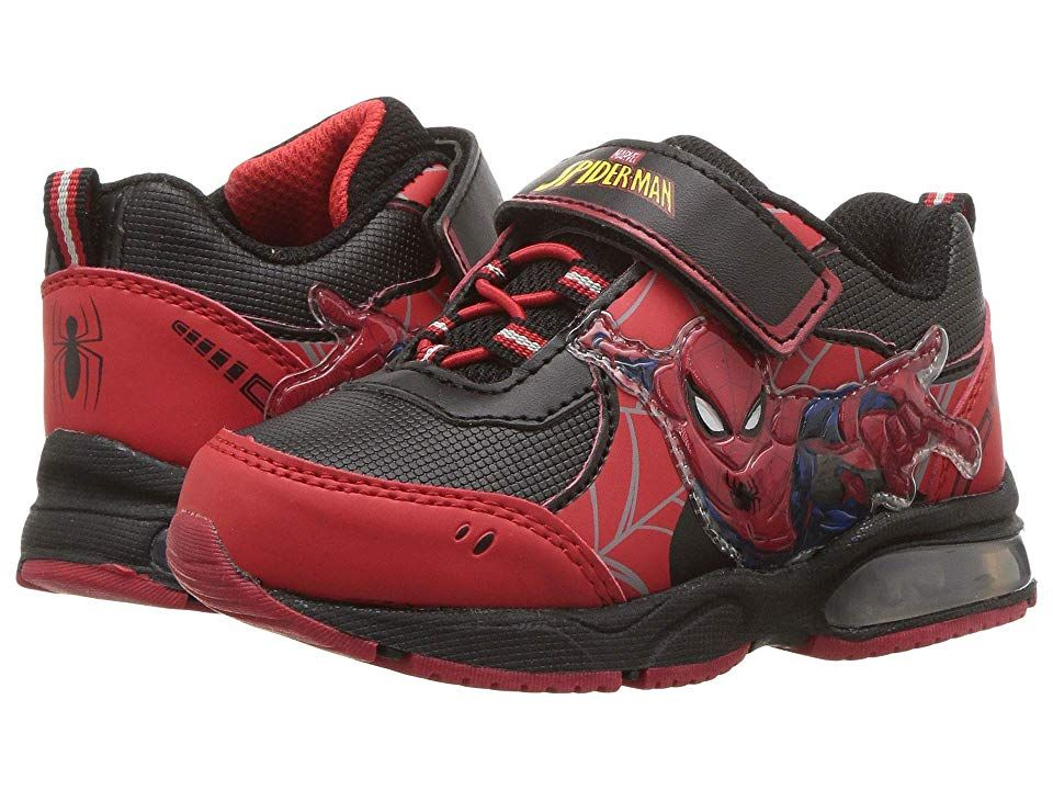 41e876032a920 Favorite Characters SPF369 Spider-Mantm Lighted Sneaker (Toddler ...