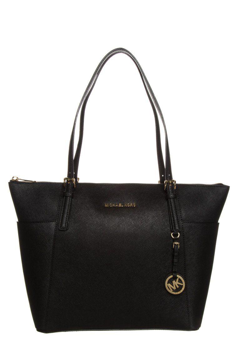 MICHAEL Michael Kors JET SET ITEM - Shopping bag - black - Zalando.no