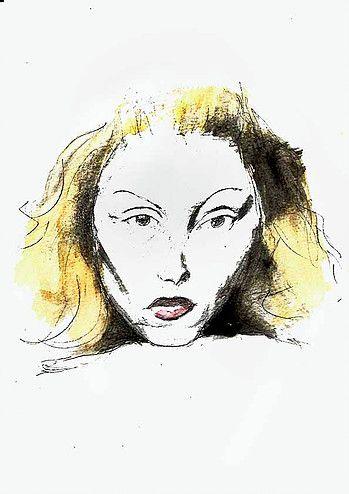 Senzaco Desenhos Clarice Clarice Lispector Ilustracao