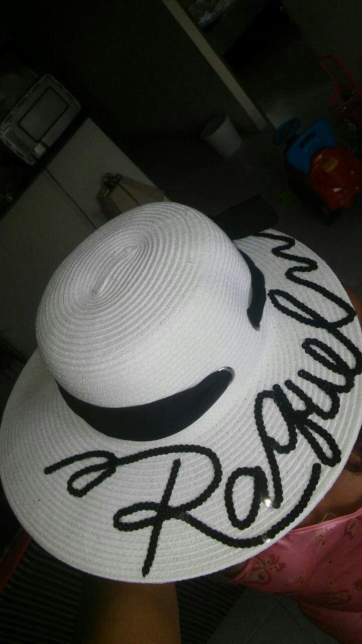 Sombreros con letras 91570826679
