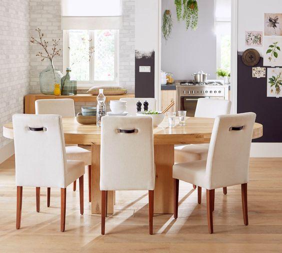 samen eten is nà g gezelliger rond een ovale eettafel zoals tafel
