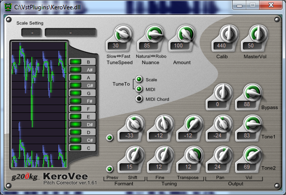 KeroVee VST Music software, Audio, Plugins