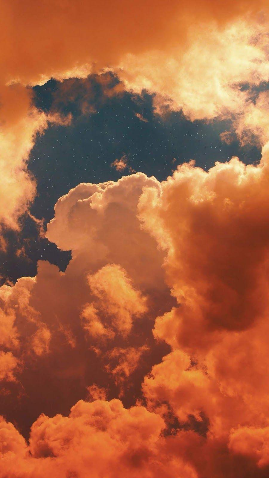 Sunset Cloudy Sky My Favorite Wallpaper Cloudy Favorite Sky Sunset Wallpaper In 2020 Sky Aesthetic Iphone Wallpaper Sky Aesthetic Iphone Wallpaper