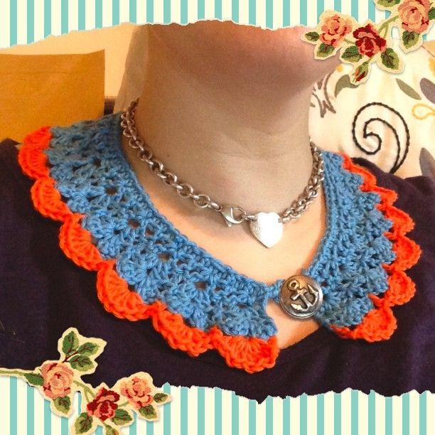 Crochet Collar ~ Photo by esyrii
