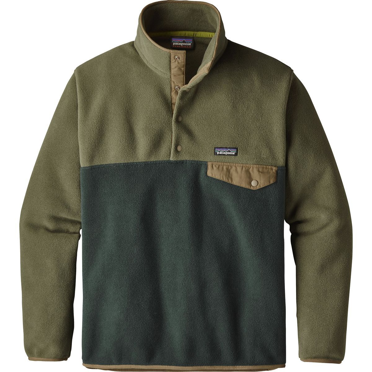 98c7b0d16dc46f Patagonia - Lightweight Synchilla Snap-T Fleece Pullover- Men s - Industrial  Green