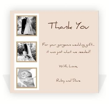 Sample Wedding Thank You Notes Free Note Examples Bridal Shower Word Excel Pdf Format