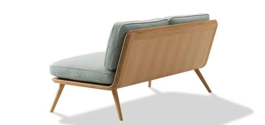 Scandinavian Design Sofa Leather 2 Seater Spine By Space Copenhagen Fredericia Furniture