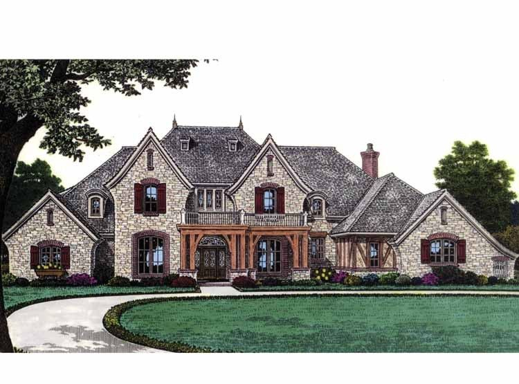 Eplans french country house plan stunning european home for Eplans mansions