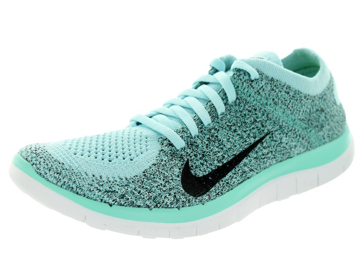 Femmes Nike Free 4.0 Chaussures De Course Flyknit Amazone