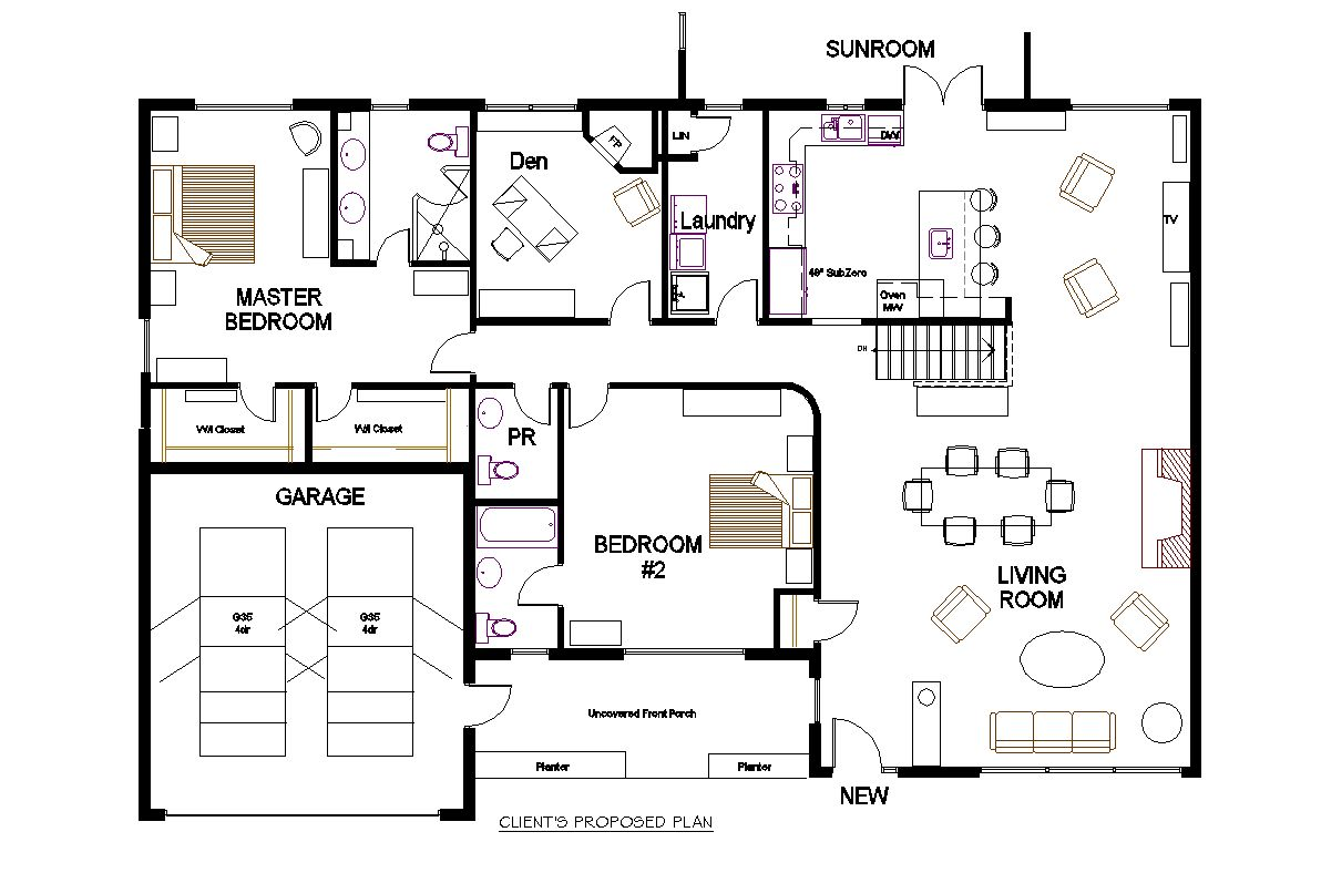 New Project A 70 S Bungalow Redesign Bungalow Floor Plans Office Floor Plan Bungalow House Plans