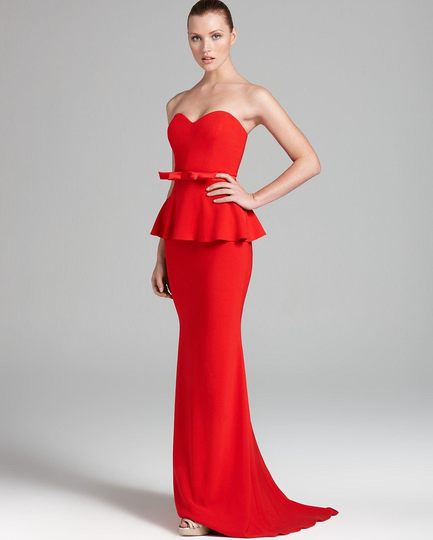 b8620bbf7b97c Red Evening Dresses Bloomingdales – DACC