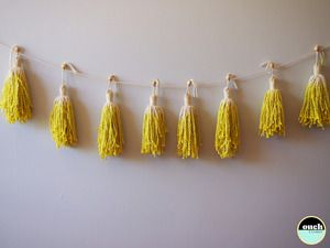 Image of MADE TO ORDER-The Original Tassel Garland