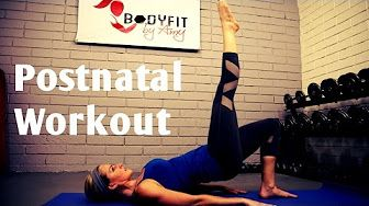 BodyFit by Amy - Postnatal Workout videos