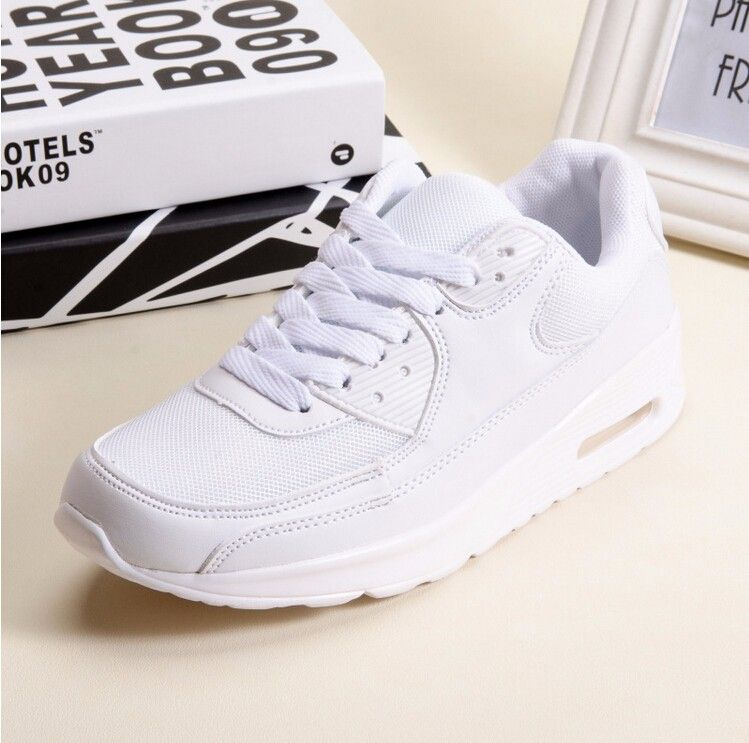 (Buy here: http://appdeal.ru/ns7 ) 2016 white pink 90 shoes womens casual zapatillas de mujer girls trainers zapatos flat chaussures maxes for just US $28.39
