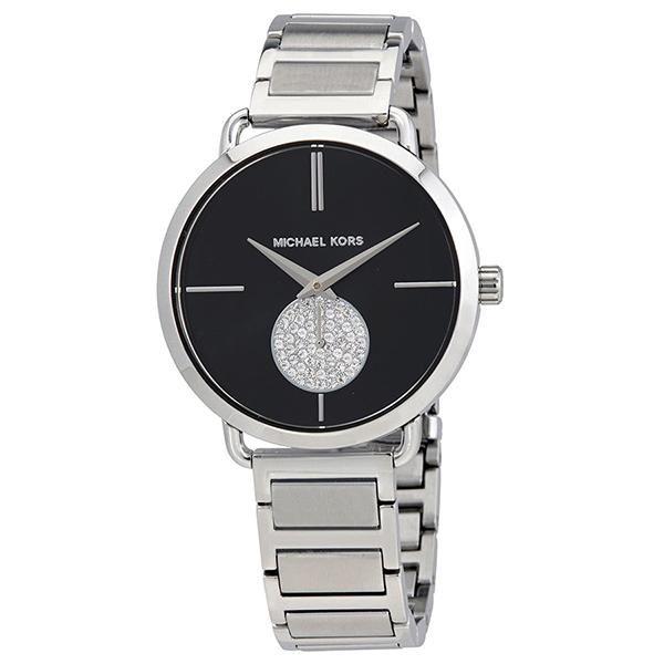 76747e703d99 Portia Stainless Steel Ladies Watch Michael Kors Watch
