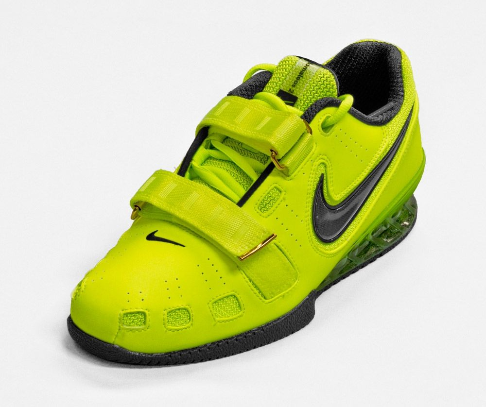 Nike Romaleos 2 Weightlifting Shoe - Volt - Weightlifting Shoes - Shoes