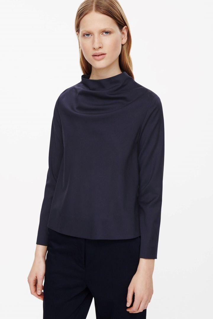 high neck collar