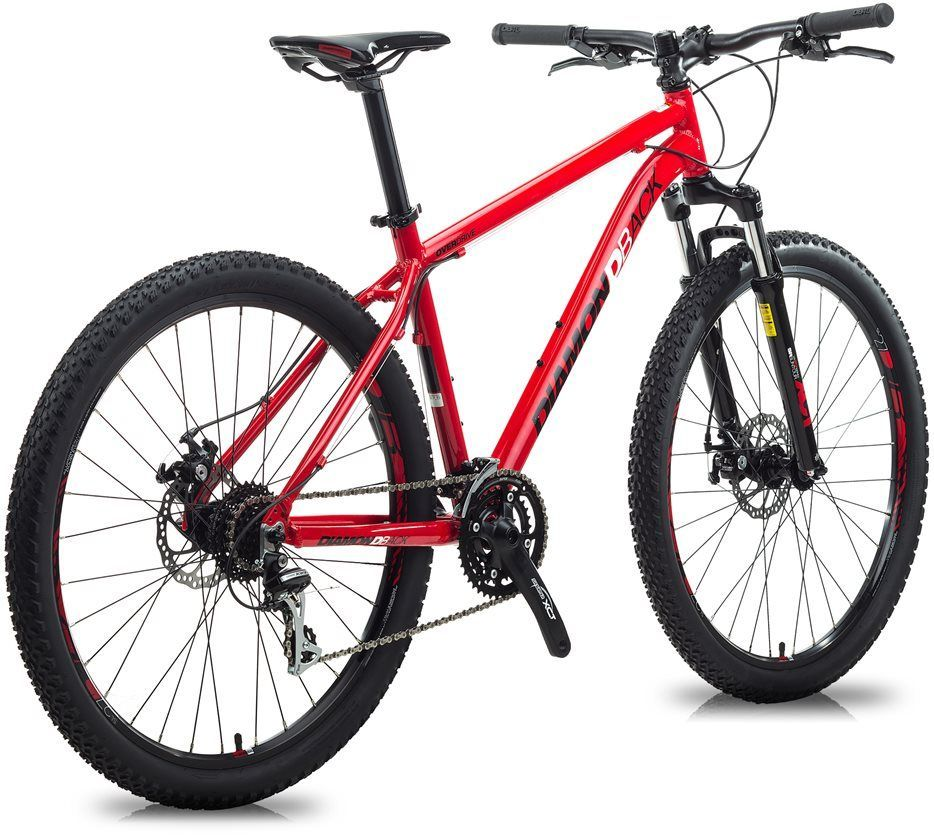 The Classic Geometry Of Our Overdrive Mountain Bikes Emphasizes Traction And Straightline Speed Mountain Bike Reviews Bike Reviews Diamondback Mountain Bike