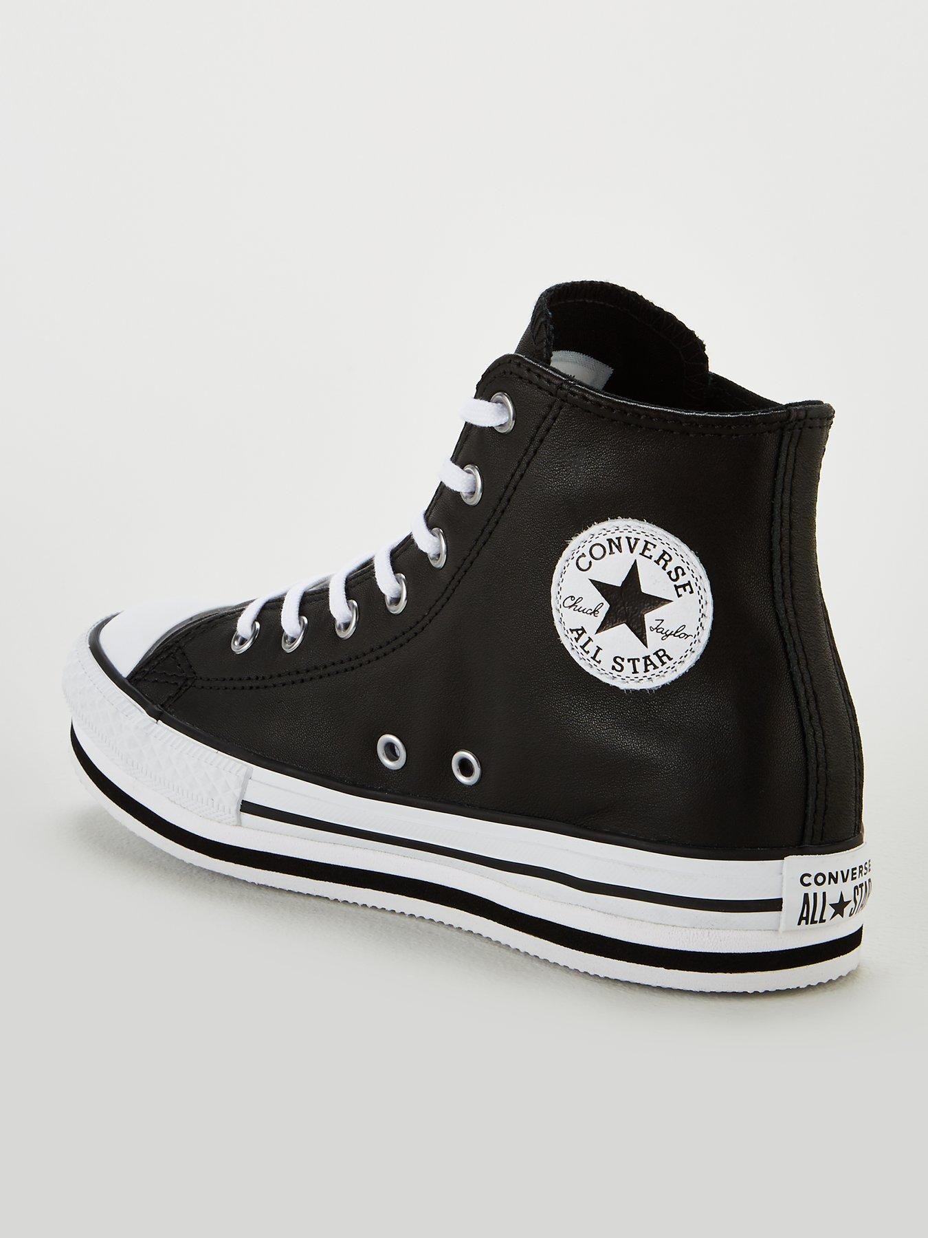 Billig Converse Chuck Taylor All Star Platform Hi Dark