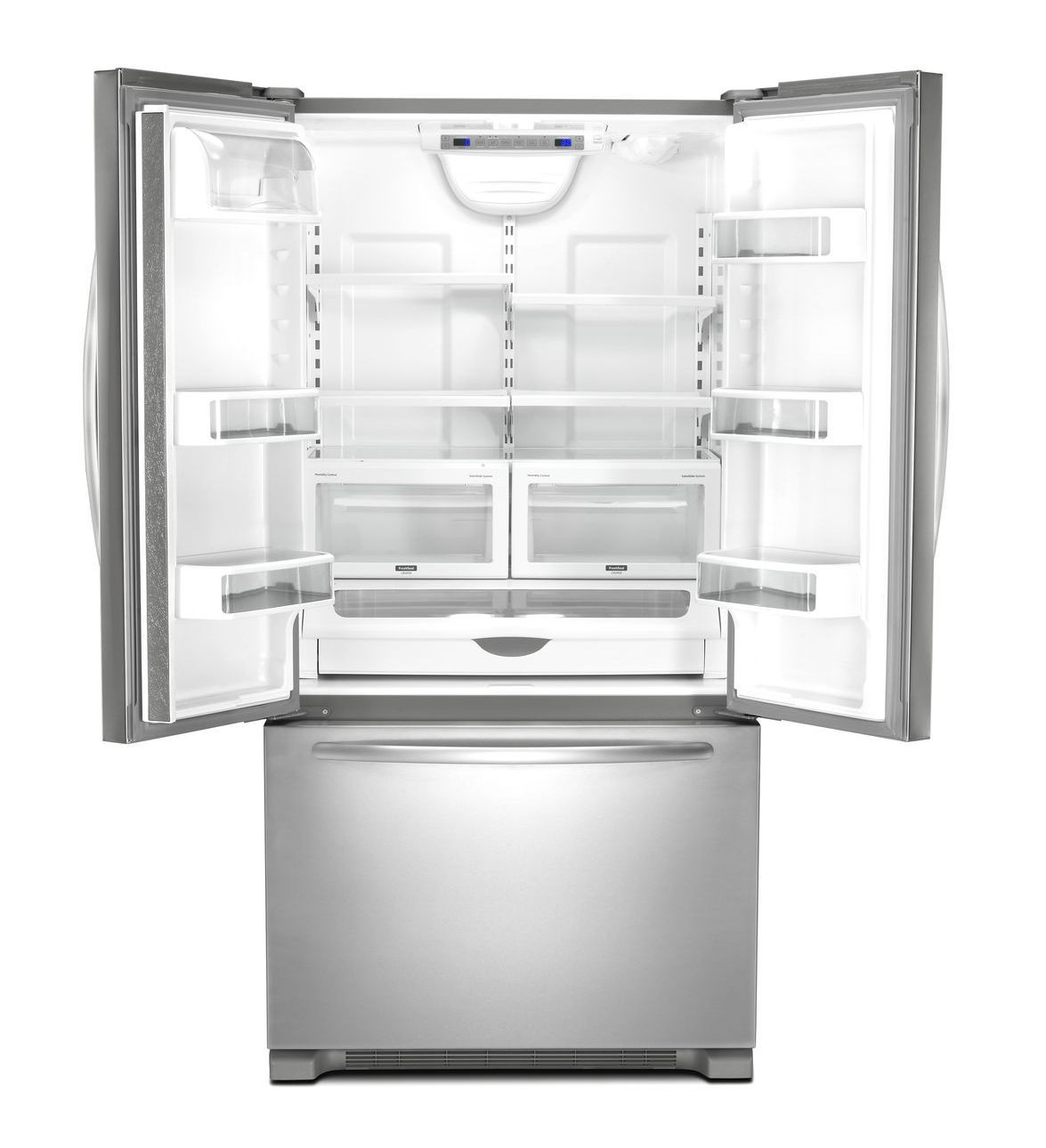 KitchenAid® 22 Cu. Ft. Counter-Depth French Door Refrigerator ...