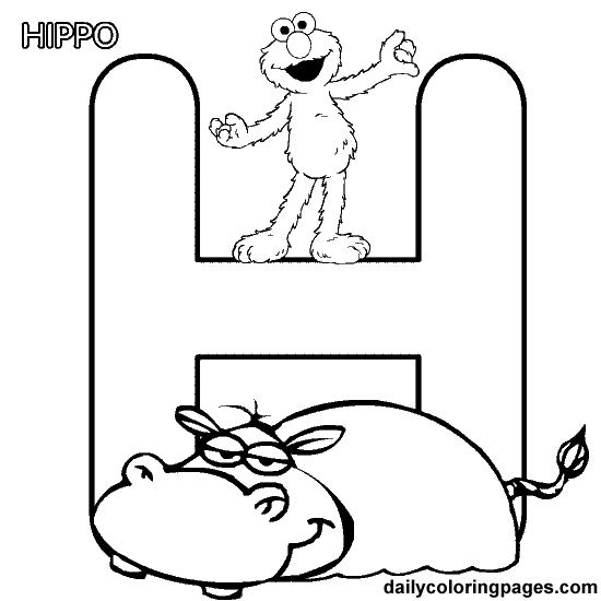 sesame street alphabet-free coloring pages | just kiddos ... - Sesame Street Coloring Pages Elmo