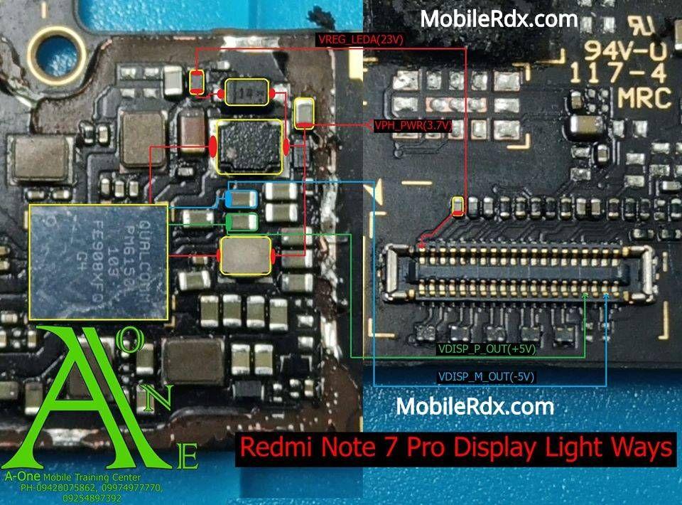 Redmi Note 7 Pro Display Light Ways Backlight Solution