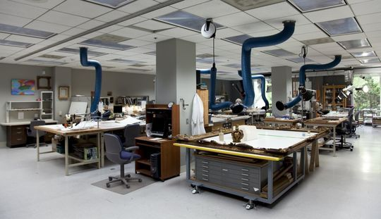 Dream Desk: As A Museum Conservator, My Desk Would Be Covered With  Artifacts And Art That I Would Clean, Repair, And Prep For Exhibit.