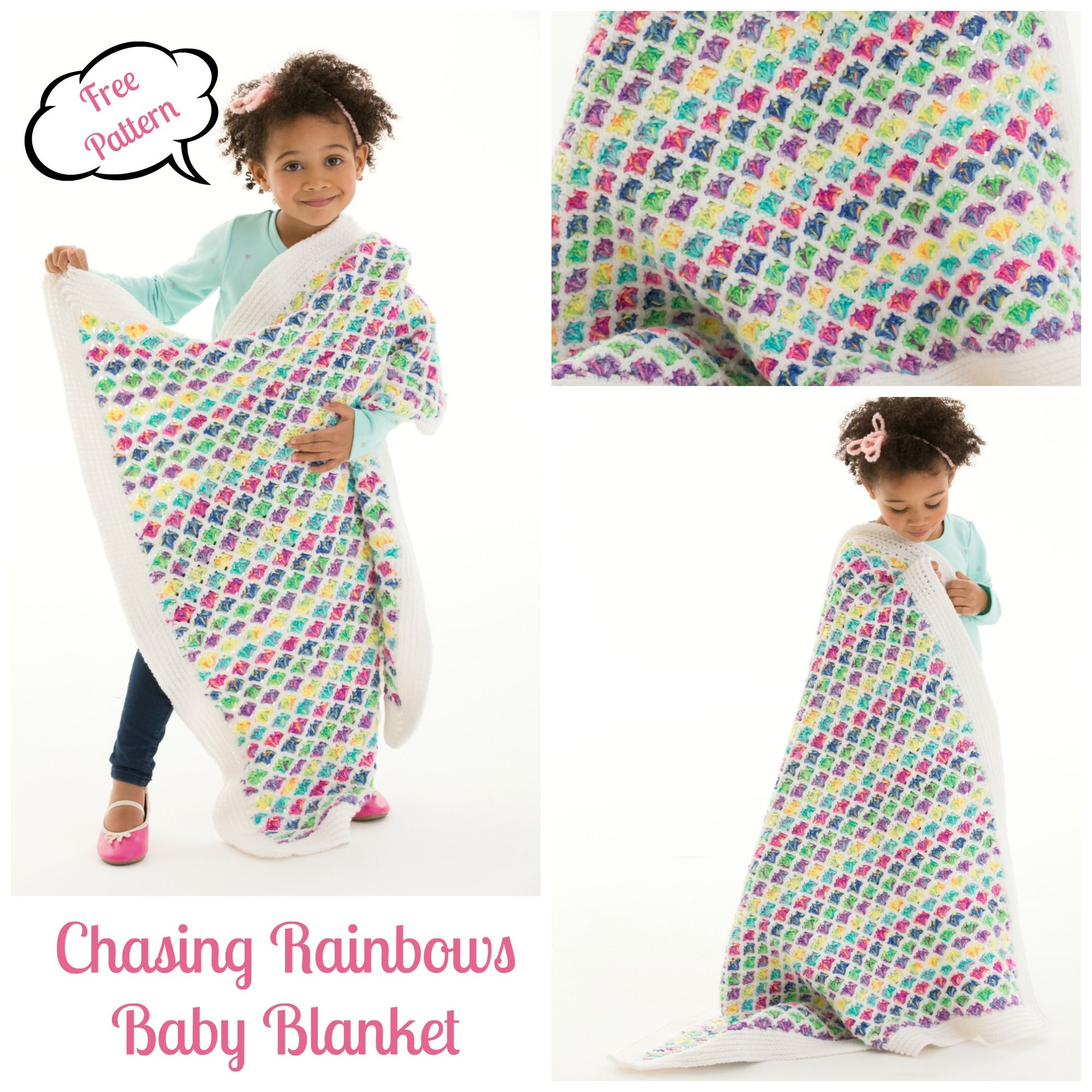 Chasing Rainbows Baby Blanket Pattern | Crochet and Knitting ...