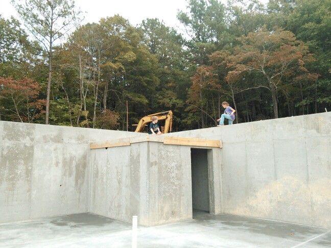 Saferoom tornado shelter in basement security for House plans with tornado safe room