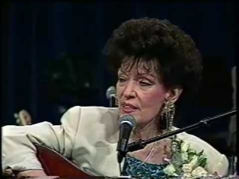 """Dottie Rambo performs her classic song """"Sheltered In The ..."""