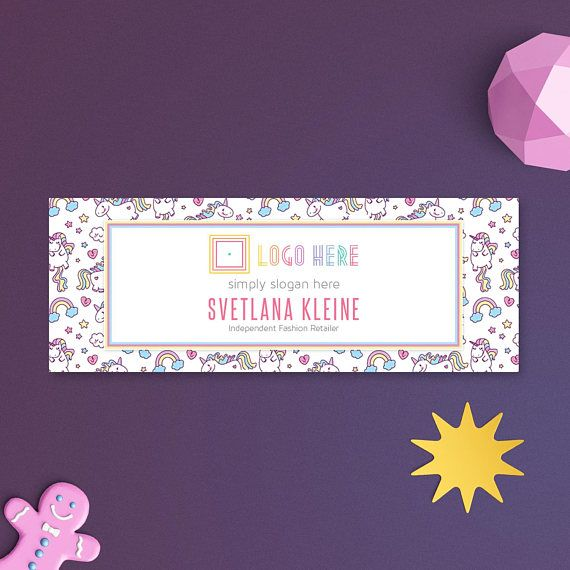 Unicorn Lula Facebook Cover Photo, Free Personalize, Home Office