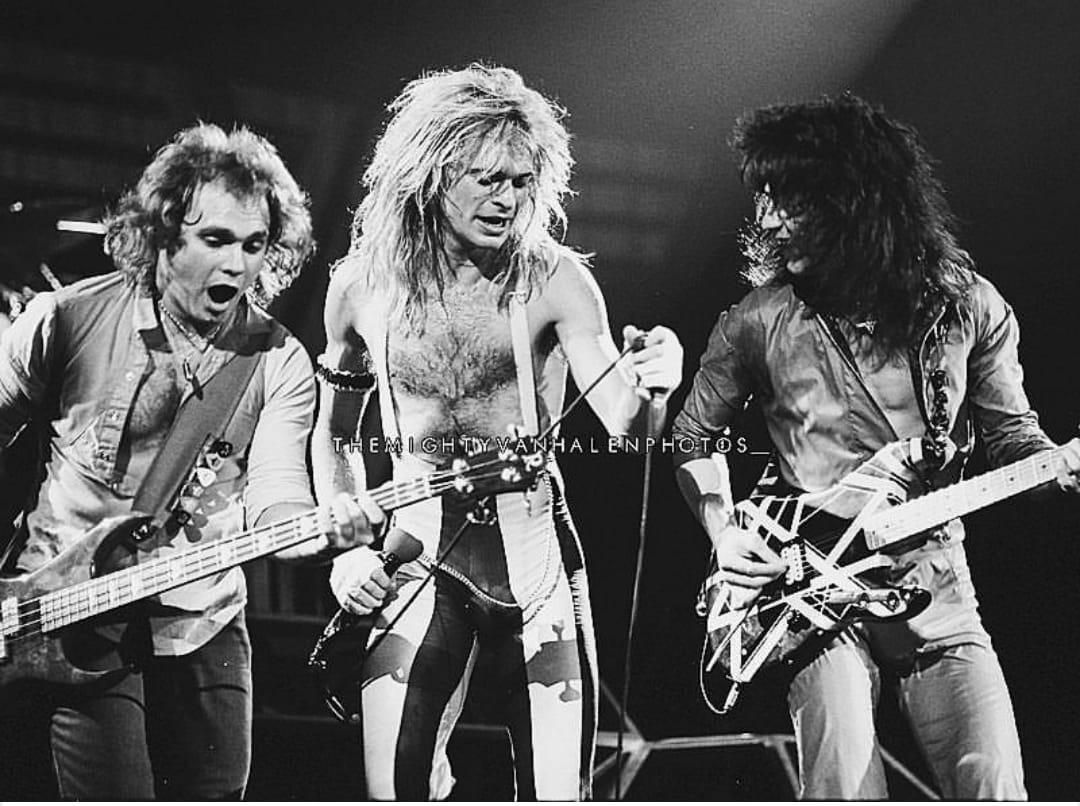 Pin By Lee Thomson On Van Halen Live Van Halen Eddie Van Halen David Lee Roth