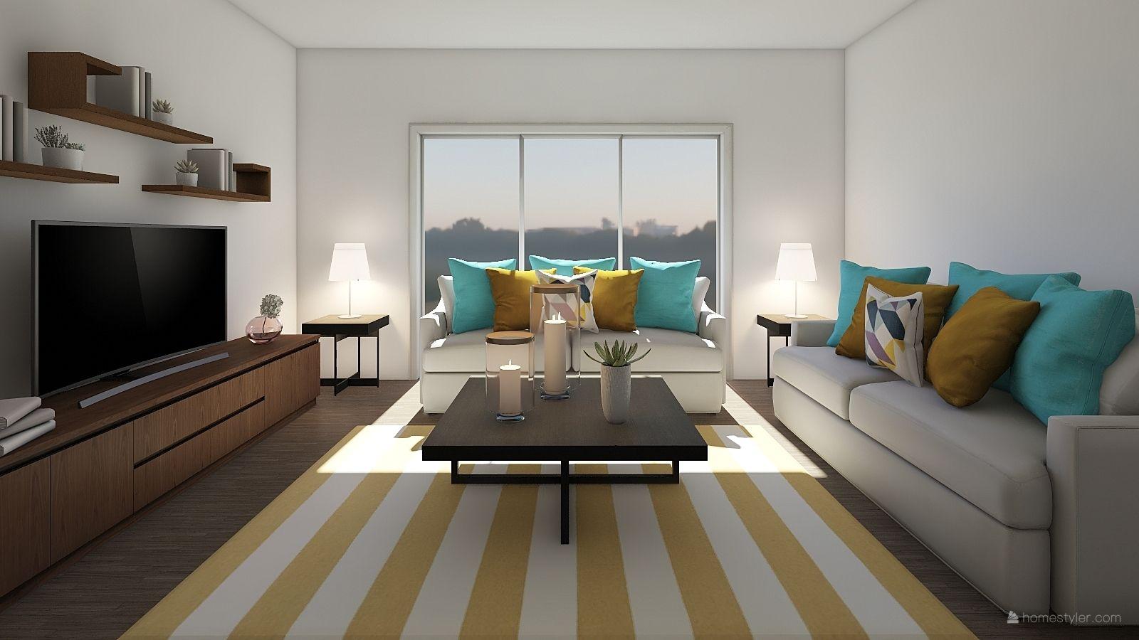 Living Room Design By Andrea Carazas 3d Home Design Software