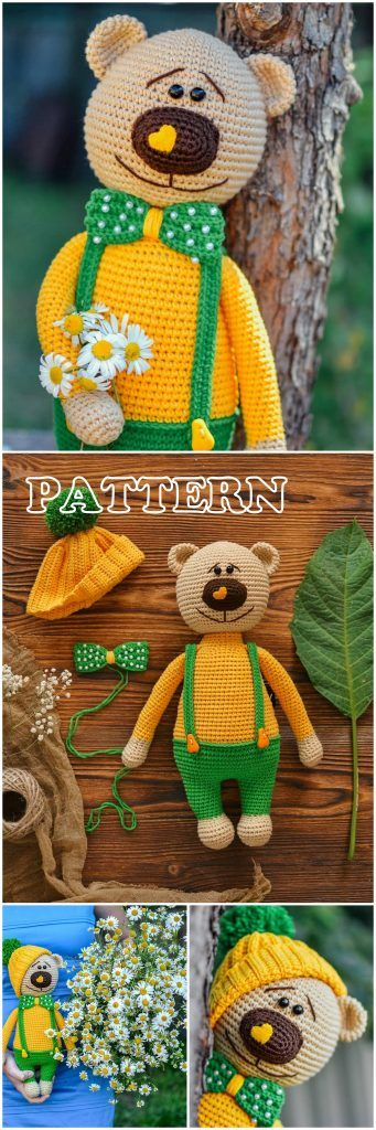 Top Best Amigurumi Design Crochet Patterns - Amigurumi Free Patterns #crochetbearpatterns