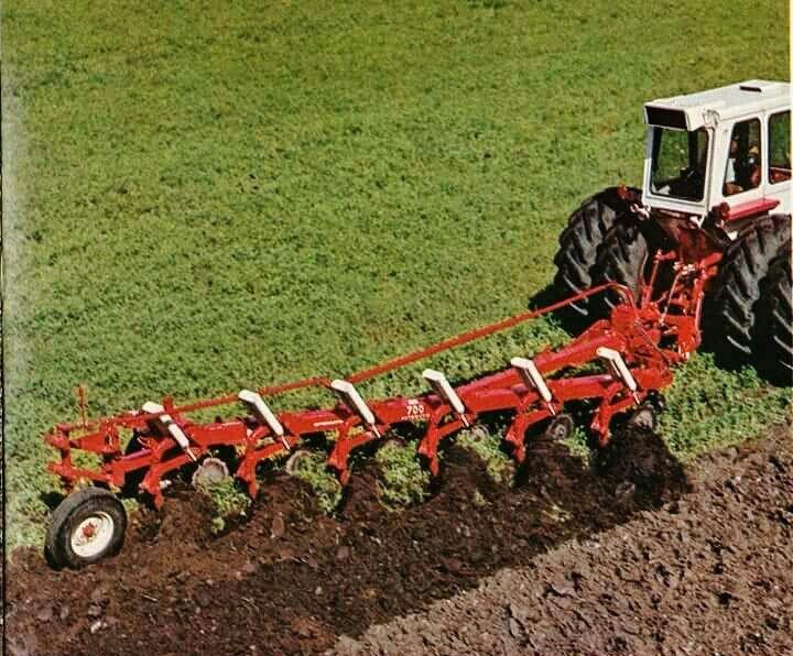 Ih 700 6 Bottom Semi Mount Plow International Harvester Tractors