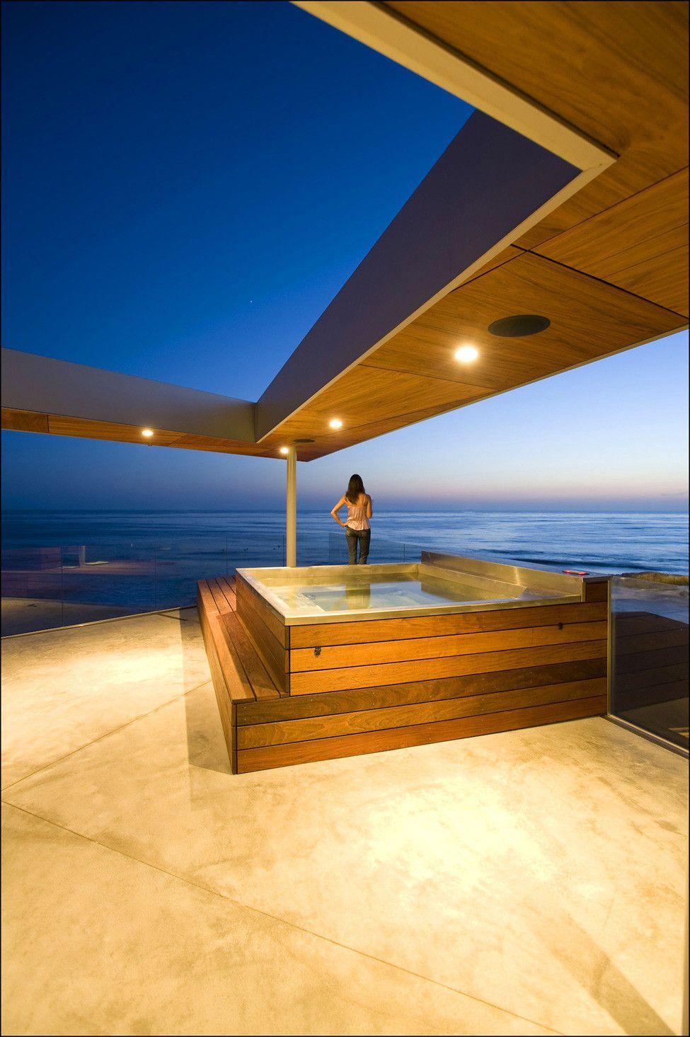 Lemperle Residence rooftop terrace by Jonathan Segal