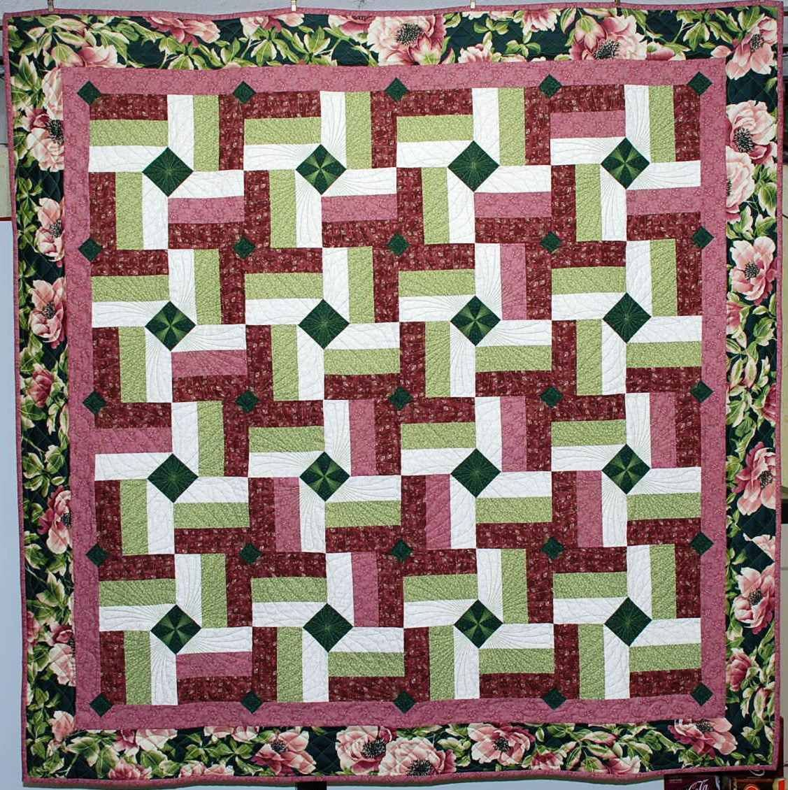 Rail Fence Quilt Variations | just finished a Split Rail Fence ... : rail fence quilt pattern - Adamdwight.com