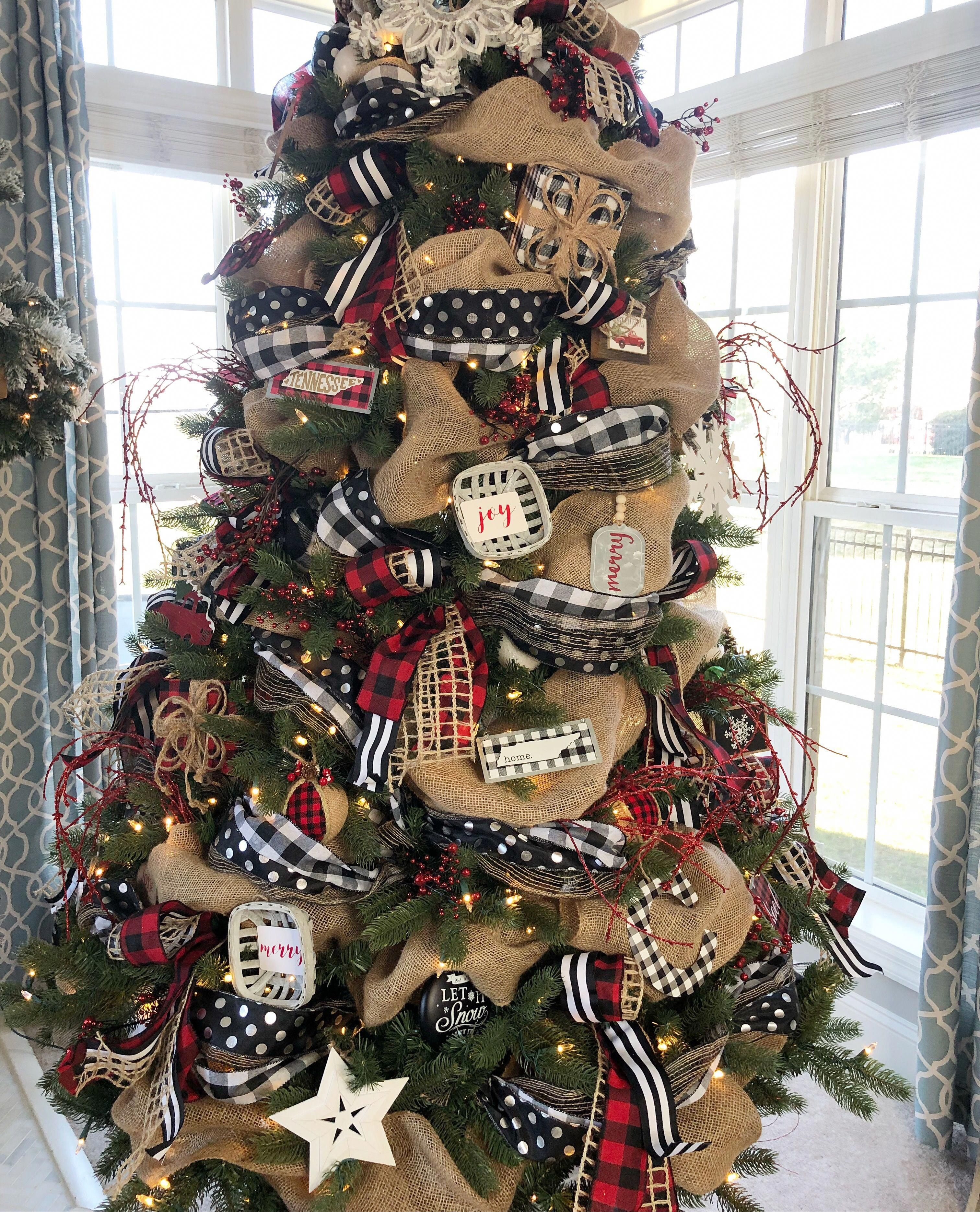 Christmas Ideas Kent Christmas Ideas For Boys Ribbon On Christmas Tree Christmas Decorations Rustic Tree Rustic Christmas Tree