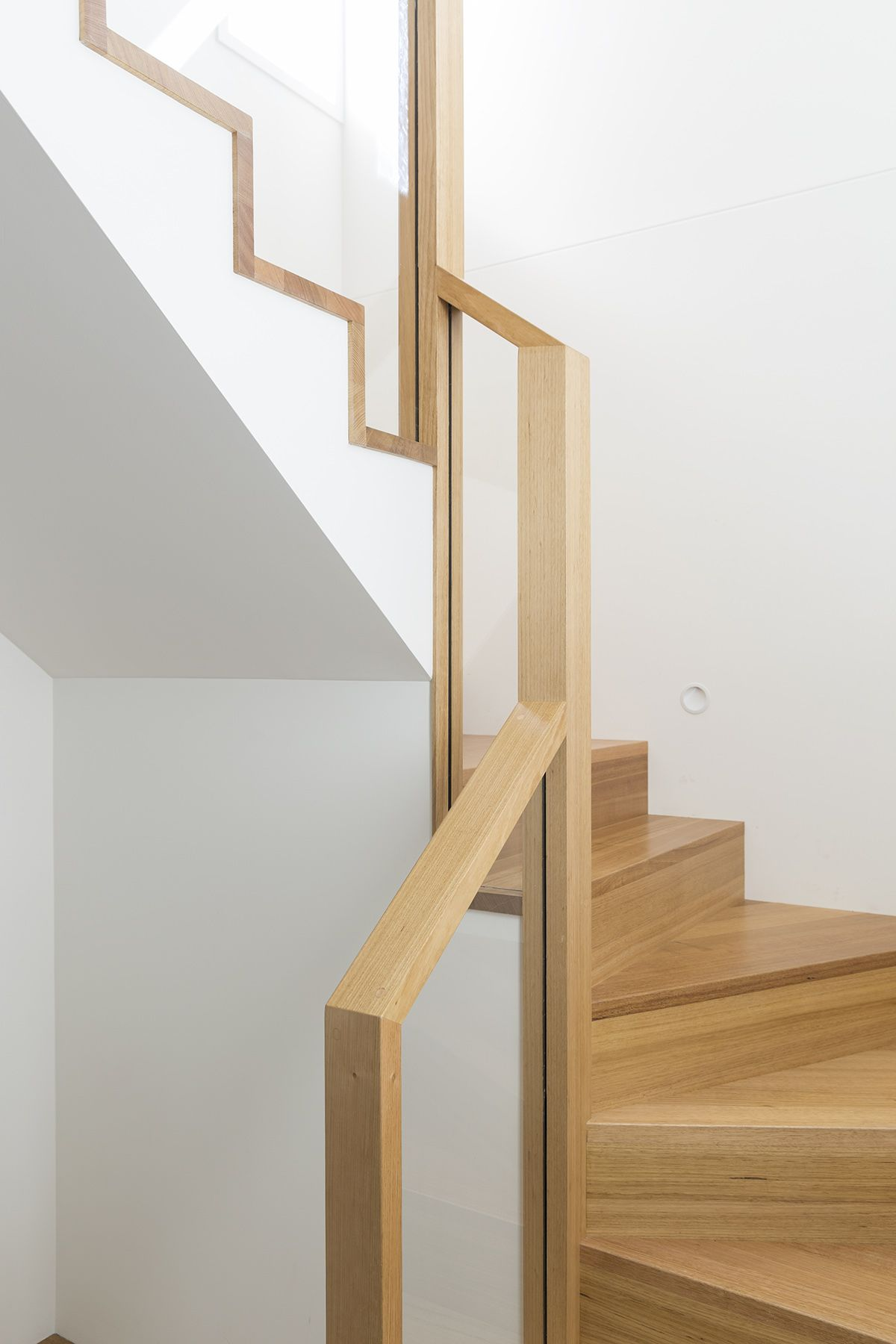 stair staircase timber stairs tasmanian oak glass. Black Bedroom Furniture Sets. Home Design Ideas