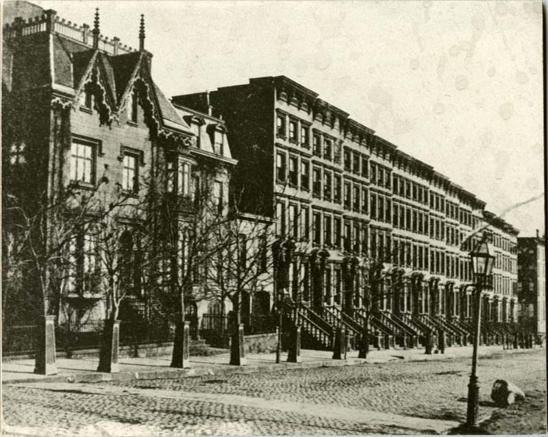 Park Avenue South From 41st Street 1870 New York City Nyc History