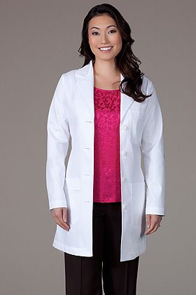 M3 Ellody Lab Coat - Petite Fit | Coat, Lab coats, White ...
