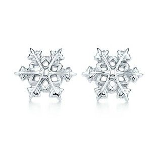 0d5458226 Buy these or something similar as a souvenir: Tiffany & Co Silver Snowflake  Earrings