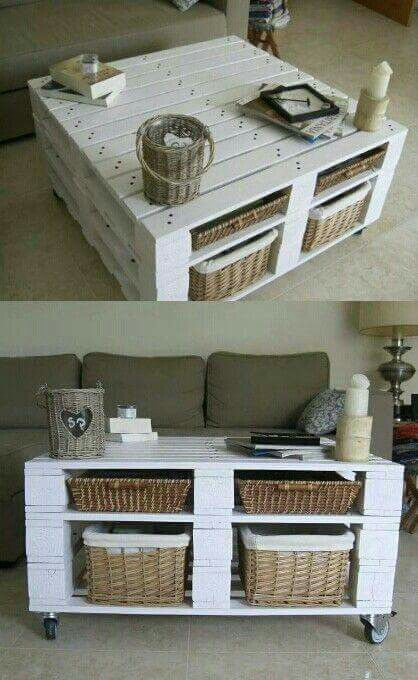 Table Basse Palette Furniture Pinterest Diy Pallet Furniture