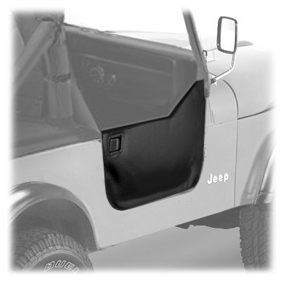 Soft Tops Canvas Bestop Bes 53028 01 Bestop Soft Half Doors In Black For 76 95 Jeep Cj Wrangler Yj And O Jeep Wrangler Parts Jeep Wrangler Jeep Cj