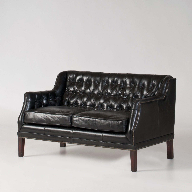 Modern Western Stefano Leather Loveseat Newlibrarygood Com