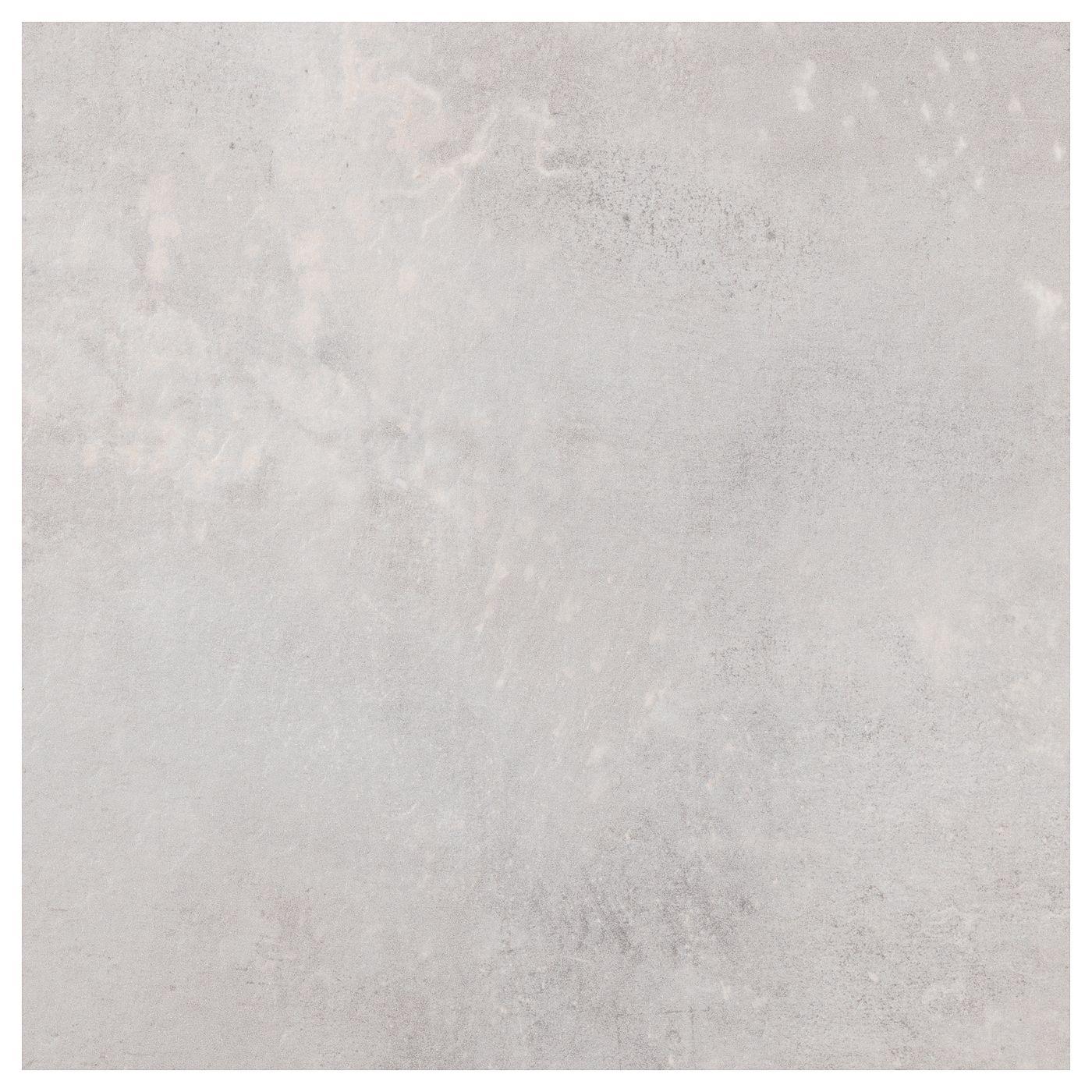 Ekbacken Countertop Light Gray Concrete Effect Laminate 98x1 1