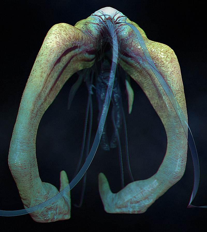 4k by Kurt Papstein - #3d #render #alien #creature #monster #design #artist - Find more at Driva.co!