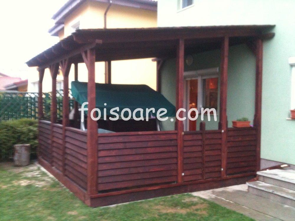 Modele terase lemn tip jaluzea 548 terase din lemn for Modele de balcon din lemn
