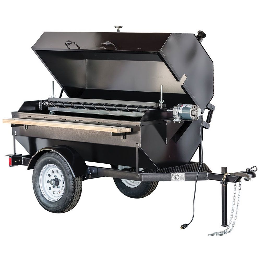 Big johns grills rotisseries 6sdr 68 towable charcoal